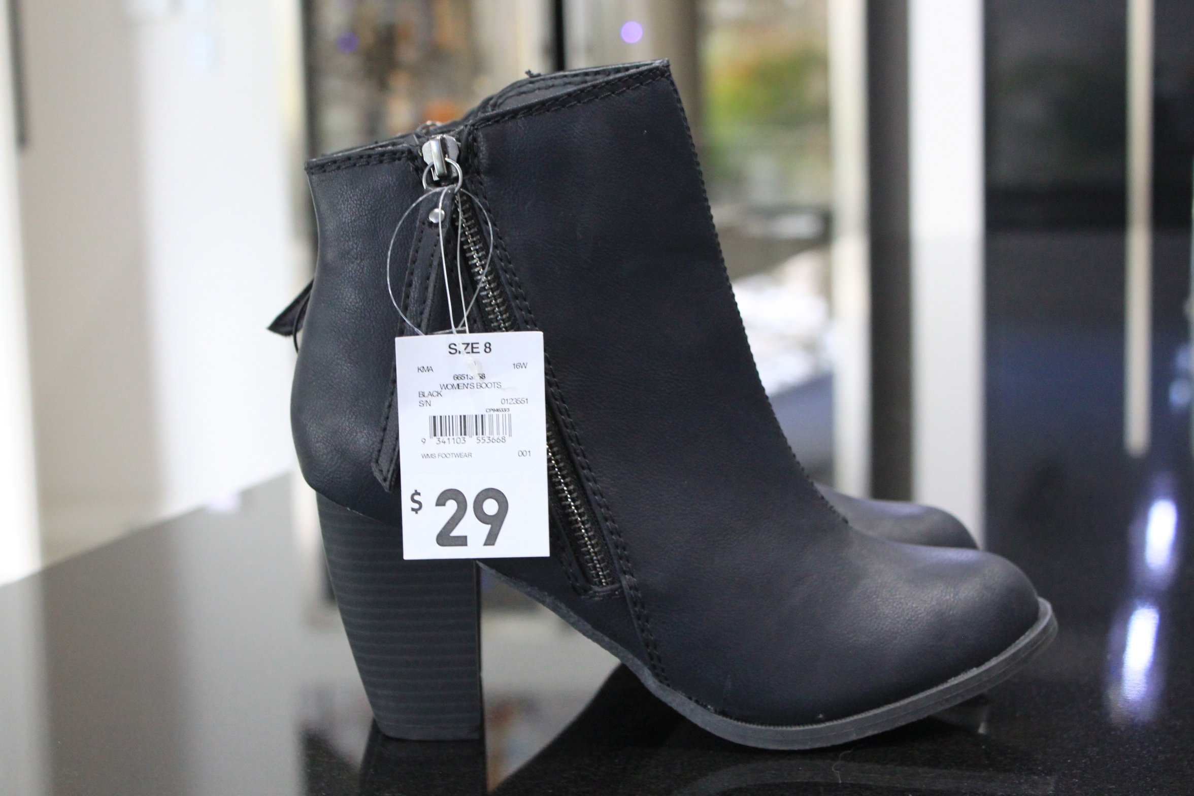 5f8b54b064598 You are going to need a pair of black ankle boots, preferably with a square  chunky heel. Styles are always changing, so if you can't get this exact  pair, ...